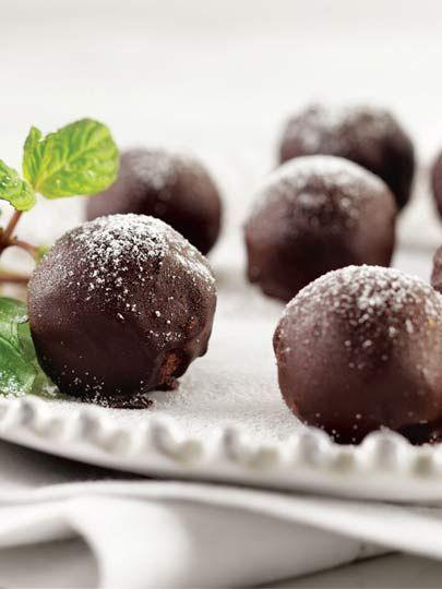 Cevizli ve çikolatalı toplar Tarifi - Tatlı Tarifleri Yemekleri - Yemek Tarifleri