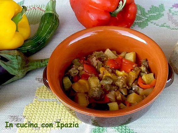 Ciambotto salentino (stufato di verdure estive)