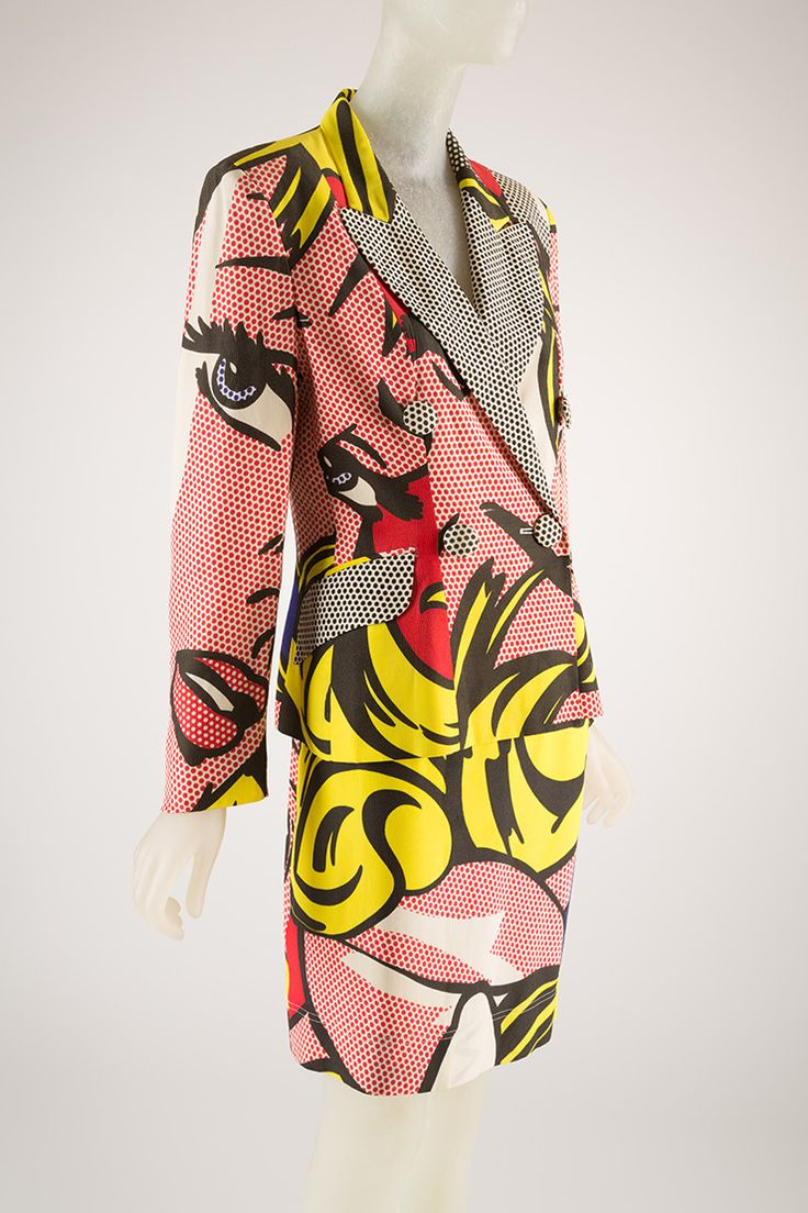 Roy Lichtenstein + Moschino | Fashion, New york ...
