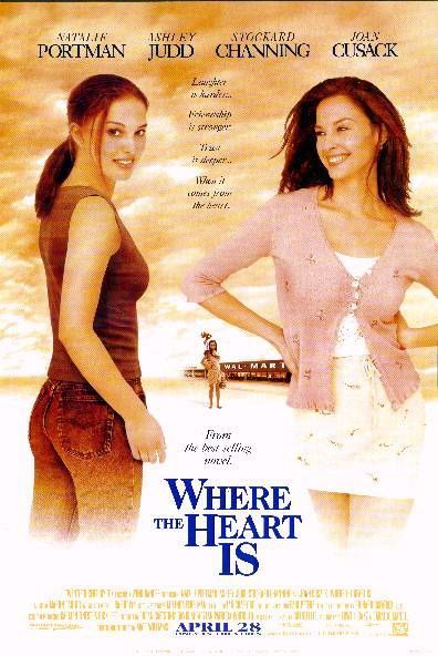 Day 1: Your favirote movie: Where the Heart Is I love it! I have alot of favirotes, but this one is my # 1 it touches my soul for some reason