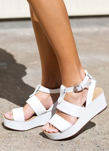 Billini Spencer Shoes White   Beginning Boutique