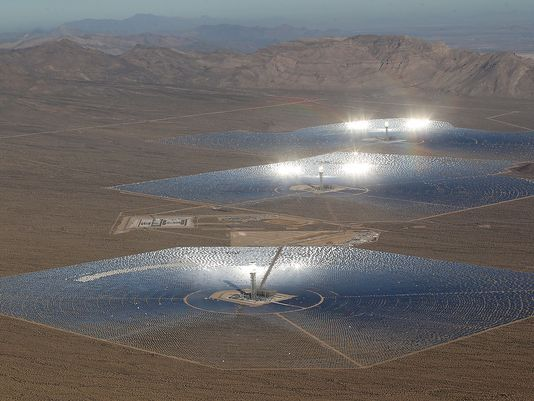 ivanpah concentrated solar power - Google Search