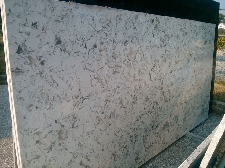 Montclair White Quartz Slab Quartz Countertops Quartz