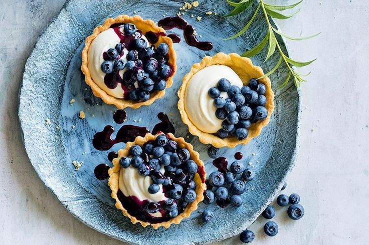 The combination of light, fragrant lemon verbena custard and blueberries makes for a memorable dessert everyone will love.  This recipe is an extract from Valli Little's new book, My Kind of Food (Harper Collins, $39.99), available nationwide.