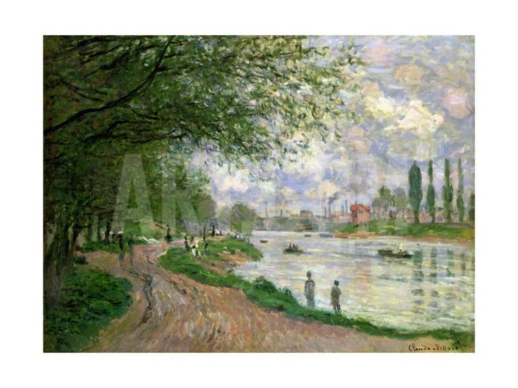 The Island of La Grande Jatte Giclee Print by Claude Monet at Art.com