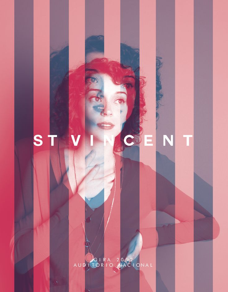 #stvincent #music #poster #design by karina janis