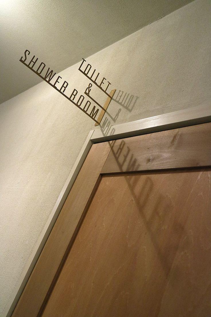 Toilet & Shower Signage | Len Kyoto Kawaramachi