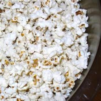 Bacon Popcorn.  I got some of this as a gift. Yum!