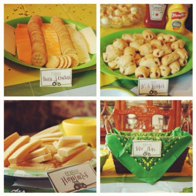 John Deere Birthday Party Food Ideas