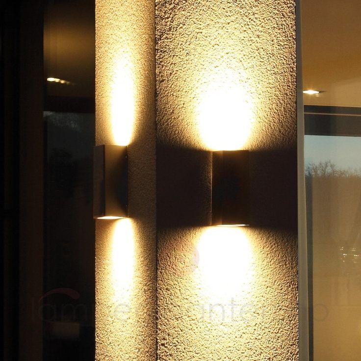 Vegghent utelampe Nila av høy kvalitet 6068008