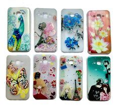 Fancy Stone Studded Soft Back Cover Case For Samsung Galaxy J7 (J 7)