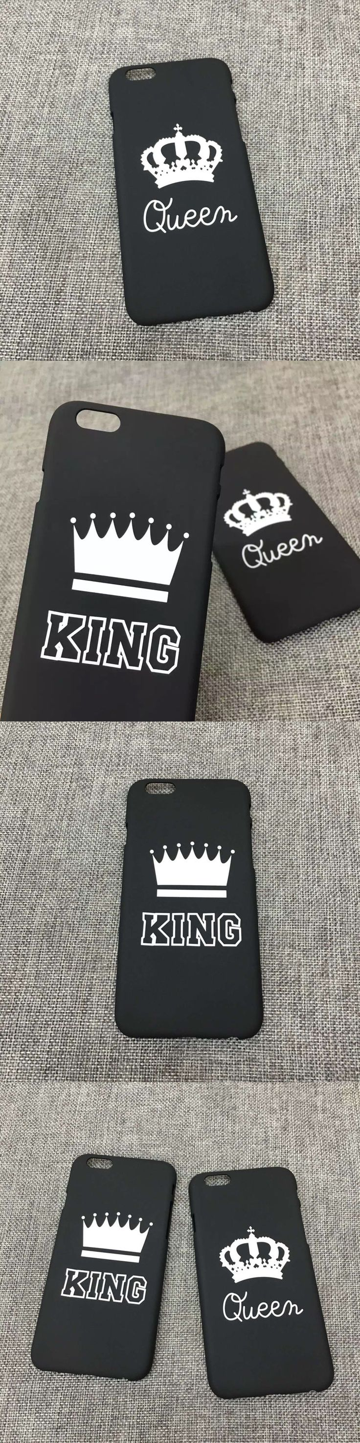 New Fashion Lovers Black Letter Case Matte Hard Plastic Cover Capa Carcasa Funda Coque For iPhone 7 7 plus 6 6s 6 plus 5 5s Case
