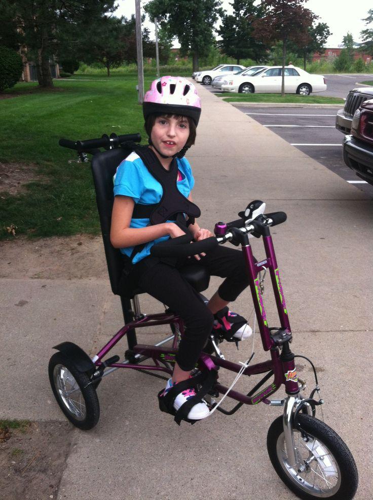 Special Needs Bike For Rachel Rett Syndrome Special