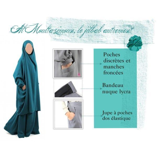 jilbab à poches