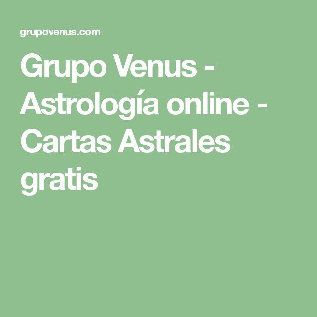 Grupo Venus - Astrología online - Cartas Astrales gratis