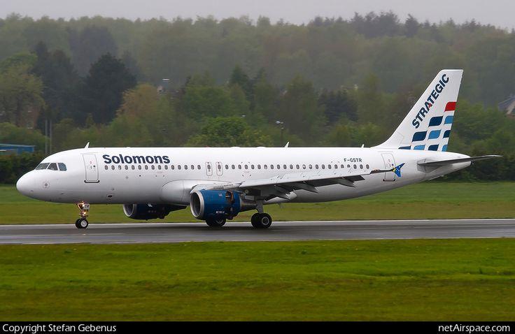 Solomon Airlines Airbus A320-211 (F-GSTR)