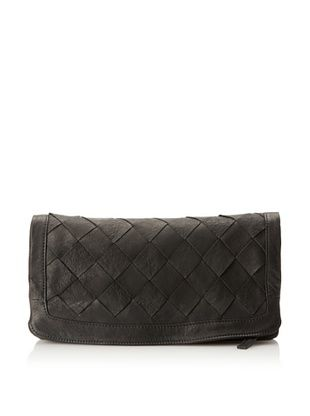 Heather Hawkins Women's Large Love Is Clutch, Black
