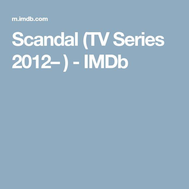 Scandal (TV Series 2012– ) - IMDb