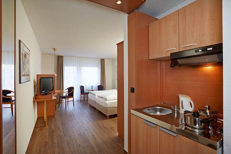 Moderen und geräumige Apartments bieten sich an, wenn man mal einen etwas längeren Aufenthalt in Wiesbaden oder Umgebung plant.