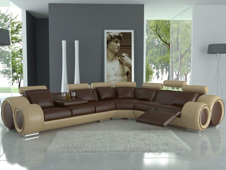 leder sofa eckcouch design sofa ledercouch ecksofa wohnlandschaft made in europa - Fantastisch Modern Sofa Kaufen