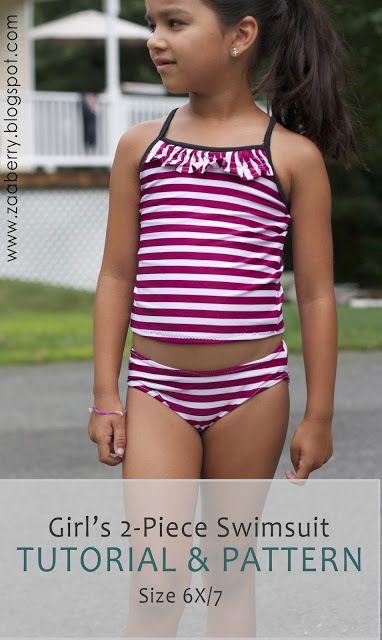 swimsuit size 6/7