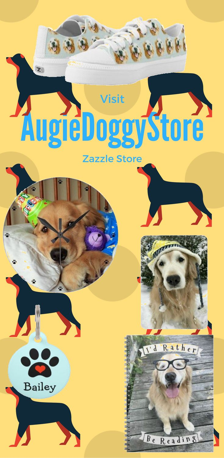 Visit augiedoggystore Zazzle Store for some cut Dog Design on many different Product.