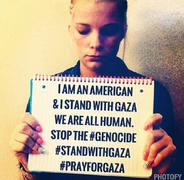 Selfies for Palestine