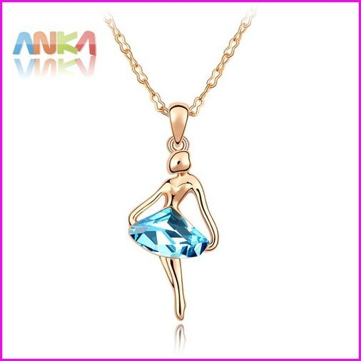 2014 Sale Limited Collar Jewelry Pendant Necklace Wholesale Rose Plated Dancing Girl Necklace/free Shipping #83893 -in Chain Necklaces from Jewelry on Aliexpress.com   Alibaba Group