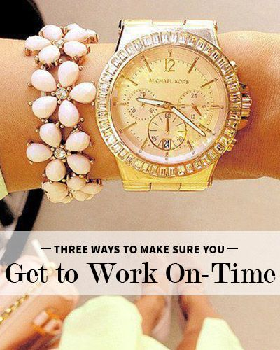 Because it's Sunday | 3 Tricks for Getting to Work On Time