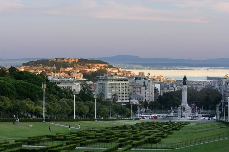 Lisbon, parque Eduardo VII