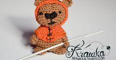 Krawka: Ewok Bear from Star Wars movie - totally free crochet pattern by Krawka. Star wars geek crochet pattern, cute Ewok