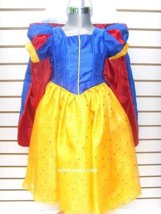 Resultado de imagen para disfraz blancanieves niña