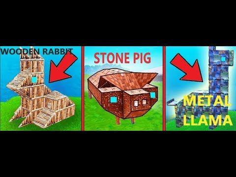 Visit A Wooden Rabbit A Stone Pig And A Metal Llama Location
