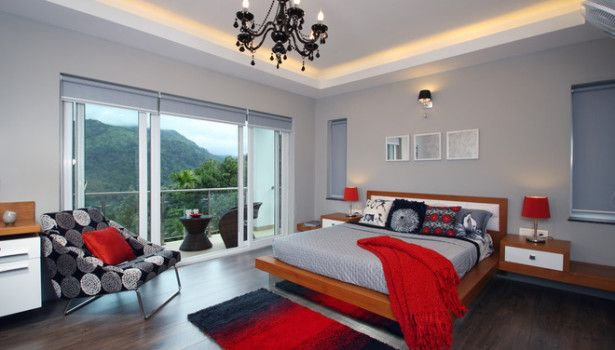 Bedroom Red Bedroom Closet Organizers Lamp Decoration Designs Closet Doors Kids Curtains Color Furniture Sets Bench Lamps Dresser Neutral Grey Pops Smart Unique Bedroom Decor Ideas That Taste Like Private Heaven