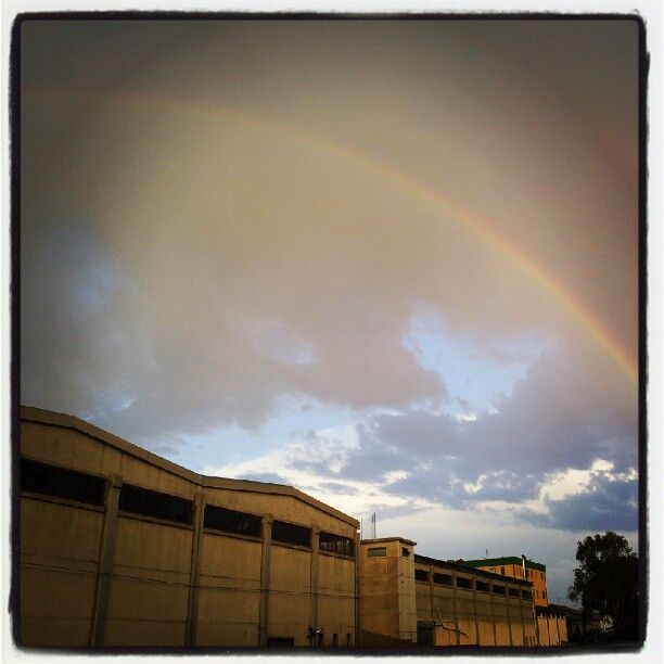 Rainbow, Silvi Marina - Samsung Galaxy S2 Internal Camera, Instagram