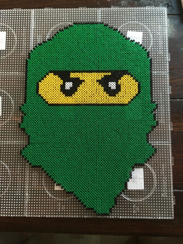 LEGO Ninjago hama perler beads by Dorte Marker - Pattern: https://de.pinterest.com/pin/374291419004701820/