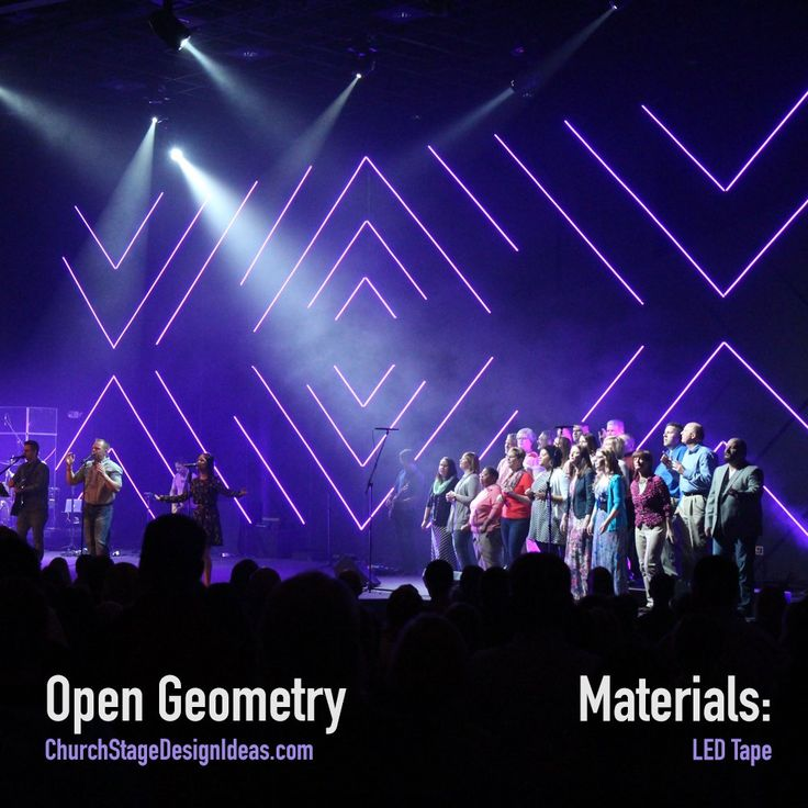 open geometry from grace community church in fremont ohiochurch stage design ideas - Stage Design Ideas