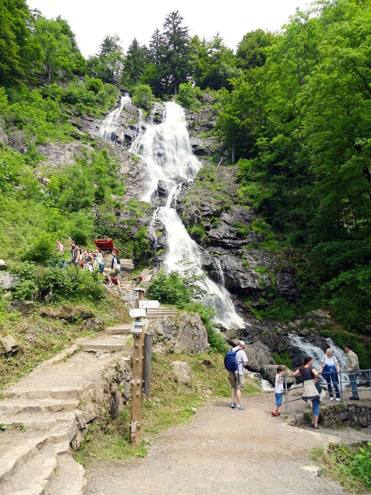 Todtnauer Germany waterfall A. Seidel