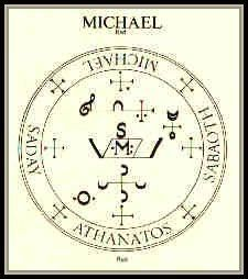 Archangel Michael Angelic Symbols   The archangel's sygils in Misc Forum