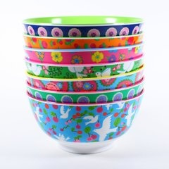 Melamine bowls... RICE...so pretty