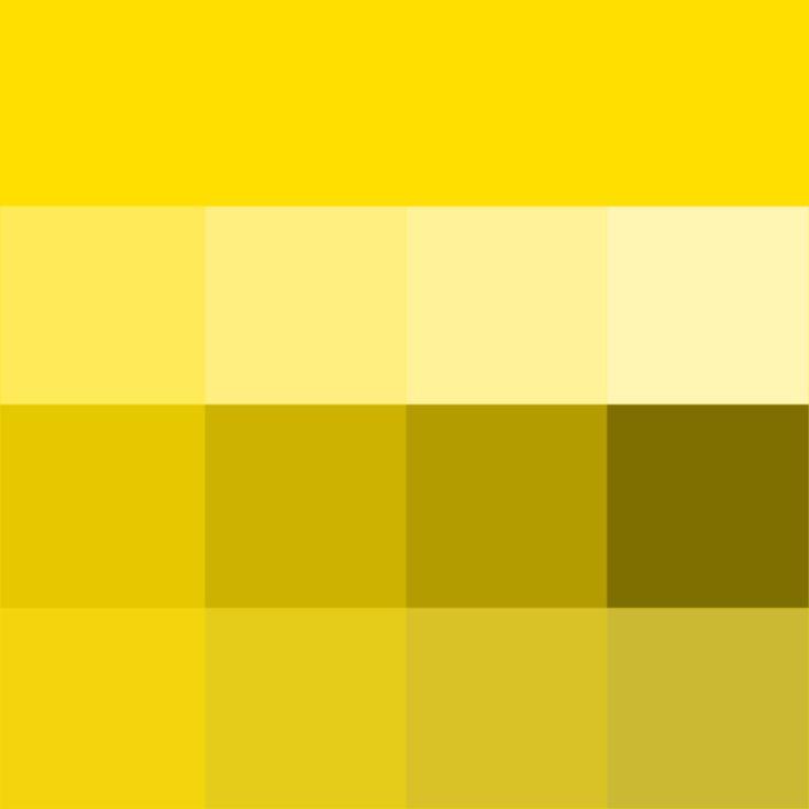Golden Yellow Hue Tints Shades Amp Tones Hue Pure