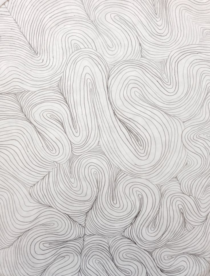 Emotional Lines In Art : Emotional contour drawing chs student artwork various