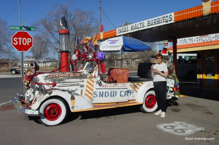 """Delgadilla""""s is one of the famous drive-ins still remaining and functioning. The ice cream was delicious."""