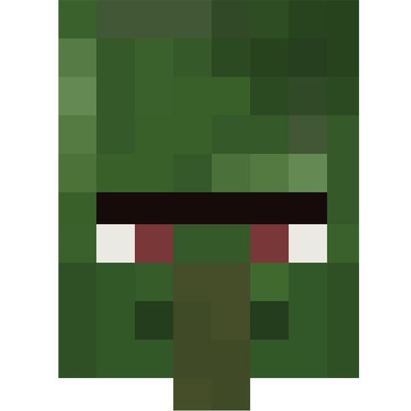 Minecraft Villager Head Costume 17 Best images about T...