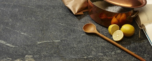 Soapstone countertops...very durable