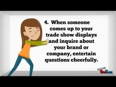 How to Man Your Trade Show Booth - YouTube