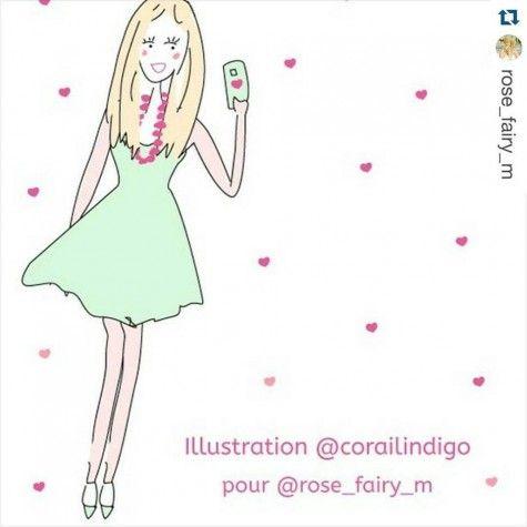 Corailindigo illustration personnalisee