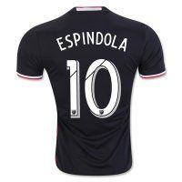 DC United Home 2016-17 Season ESPINDOLA #10 Soccer Jersey