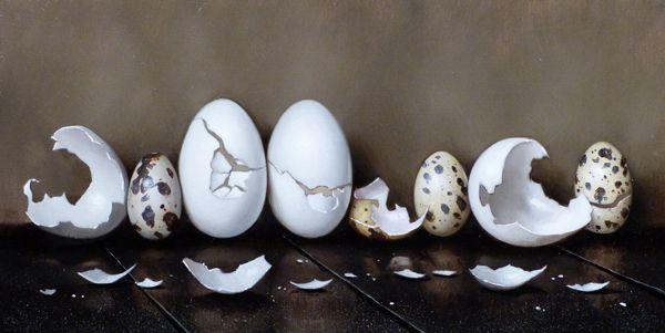 Eggshells III by Clinton Hobart