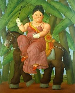 La primera Dama (Fernando Botero)